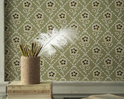 Little Greene Whitehall Cassis 0248WHCASSI Wallpaper