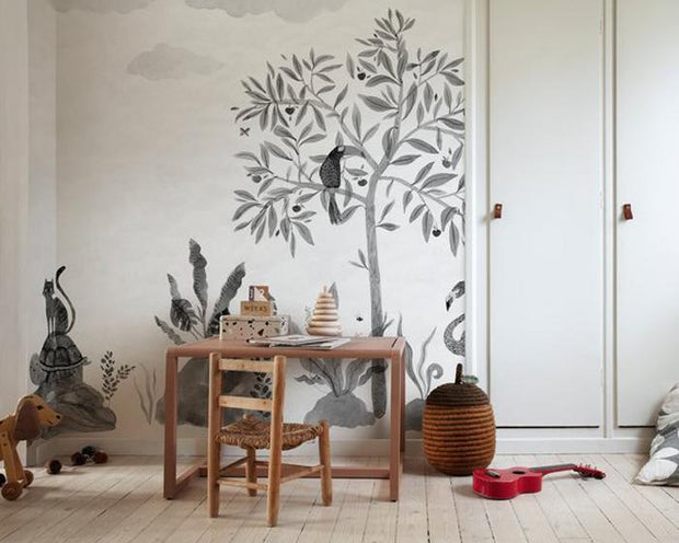 Sandberg Wilton Graphite 653-71 Wallpaper