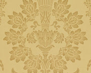 Zoffany Long Gallery Gold CDW08002 Wallpaper