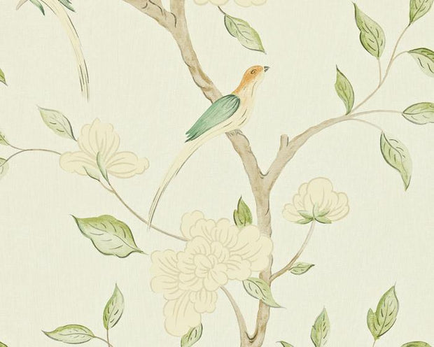 Zoffany Eleonora Celadon/Cream ZGUV08002 Wallpaper