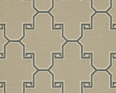 Zoffany Gio Taupe ZMOS05007 Wallpaper