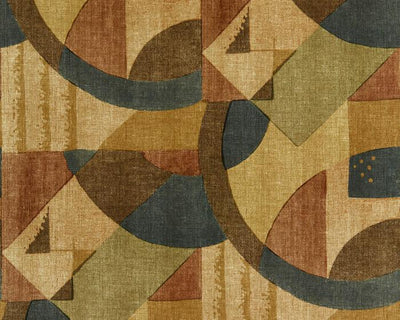 Zoffany Abstract 1928 Antique Copper 312888 Wallpaper