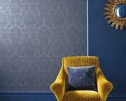 Zoffany Crivelli Como Blue 312683 Wallpaper