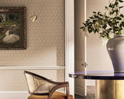 Zoffany Tallulah Plain Harbour Grey 312965 Wallpaper