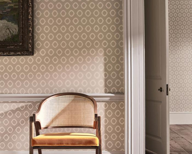 Zoffany Tallulah Plain Storm Grey 312962 Wallpaper