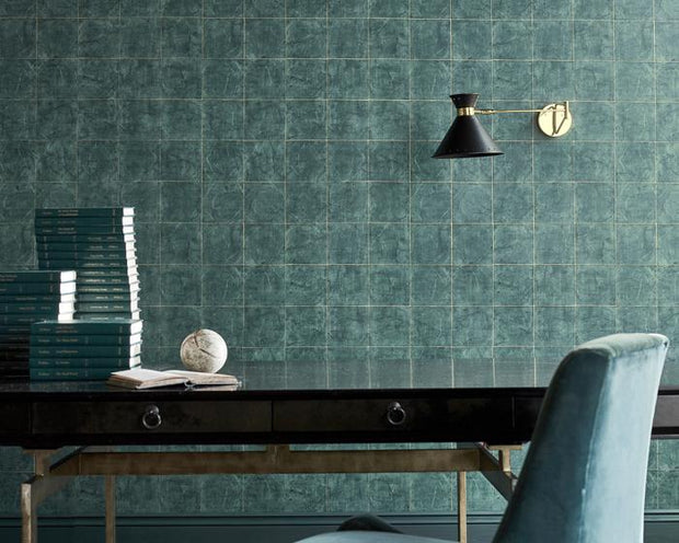 Zoffany Piastella Vine Black 312949 Wallpaper