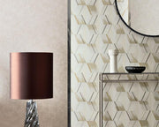 Zoffany Rhombi Empire Grey 312894 Wallpaper