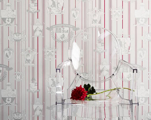 Barneby Gates Carpe Noctem in Hot Pink Wallpaper BG0100201