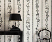 Barneby Gates Chairs in Parchment Wallpaper BG0500102