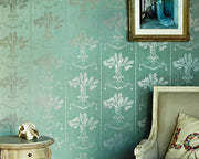 Barneby Gates Lucky Charms in Graphite on Denim Wallpaper BG0700201