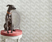 Barneby Gates The Dogs in Pale Grey Wallpaper BG0700201
