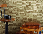 Barneby Gates This Other Eden in Vintage Gold Wallpaper BG0100101