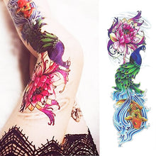 Load image into Gallery viewer, Lotus Temporary Body Tattoo