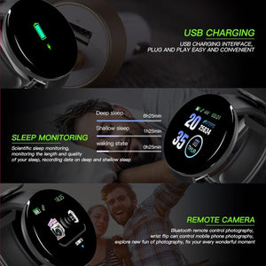 Smart Watch Men Blood Pressure
