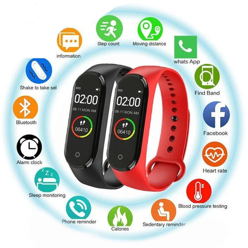 M4 Smart Watch . Waterproof Bracelet