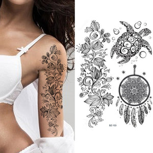 Henna Temporary Tattoos