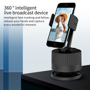 360 Rotation Tracking Smartphone Camera