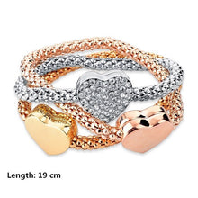 Load image into Gallery viewer, luxury Rose Gold Charm Turkish Bracelet