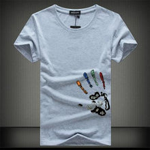 Load image into Gallery viewer, SWENEARO Men T- Shirt Homme Summer Short Sleeve