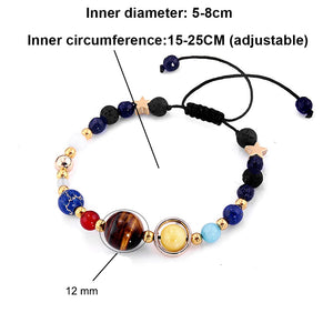 Universe Planets Bracelets Fashion Jewelry For Women 2019