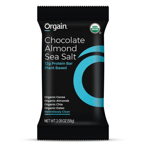 Organic Simple Protein Bar - Chocolate Almond Sea Salt - 12 pack