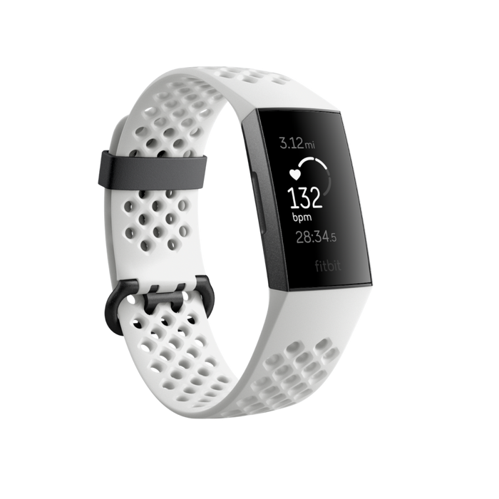 Fitbit Charge 3 - Special Edition Frost White