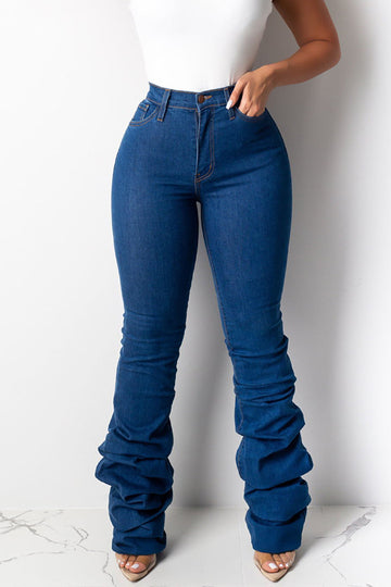 Pluum006677 Leisure Heap Blue Jeans