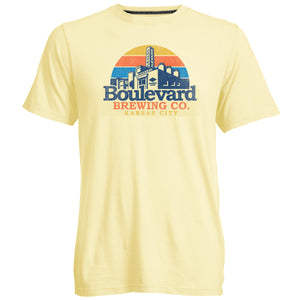 Boulevard Go To Sunset Tee Art Front