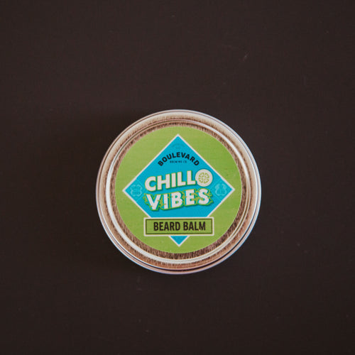 Chill Vibes Beard Balm container