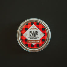 Load image into Gallery viewer, Plaid Habit Beard Balm