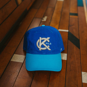 KC Pils Two-Tone Clean Up Cap front on bench