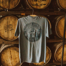 Load image into Gallery viewer, Circle Brewery Hudson Pocket Tee Hanging Front