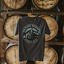Load image into Gallery viewer, Classic Brewery Tee Gray Hanging back