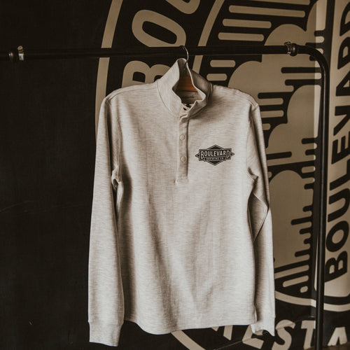 Diamond Logo Wingman long sleeve pullover Front