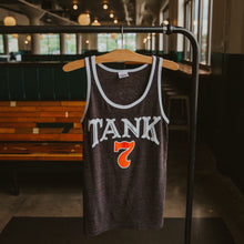 Load image into Gallery viewer, Charlie Hustle T7 Tank Hanging Front