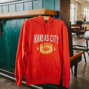 KC Football Rookie Hood Sweatshirt