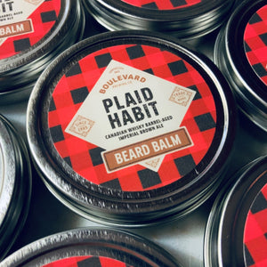 Plaid Habit Beard Balm multiple