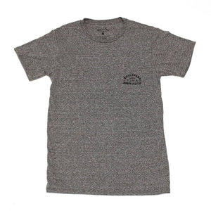 Arch Logo Pocket Tee Lite Gray
