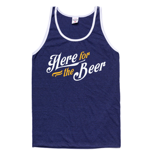 Charlie Hustle Here for The Beer Tank Art Front