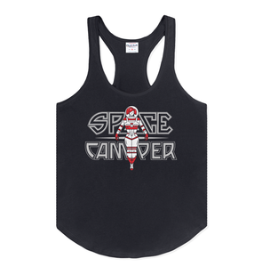 Charlie Hustle Wmns Space Tank Art Front