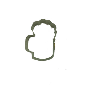 Beer Mug Cookie Cutter laying