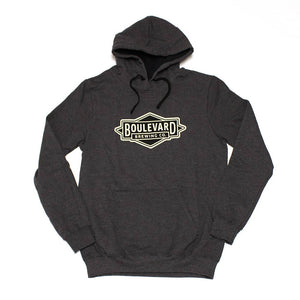 Logo Fleece Hoodie - Heather Front