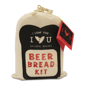 I Loaf You BEER BREAD KIT packaging