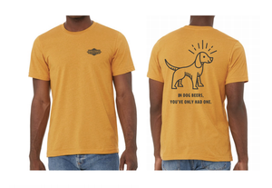 Dog Beers Tee Front and Back
