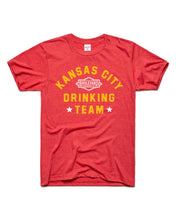 Load image into Gallery viewer, Drinking Team Football Tee