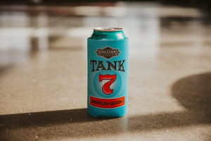 Tall Boy Koolie Tank 7 with can