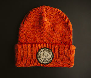 Tours & Rec Beanie - Orange front