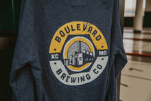 Load image into Gallery viewer, Navy Brewery Urban Full Zip Back Zoomed