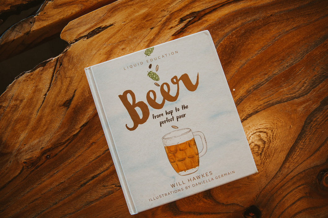 Beer from Hop to Perfect Pour Book Cover