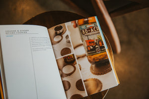Cookies and Beer Book open page